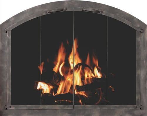 Bar Iron Collection Arched with Burnished Bronze Finish