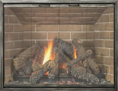 Legacy Lakewood With Metallic Latte 4-Sided Frame and No Draft Assembly
