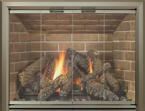 Legacy Lancaster with Antique Pewter 3-Sided Frame and Draft Assembly