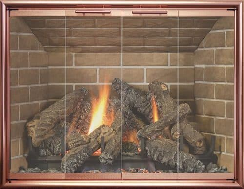 Legacy Stockton with Brite Copper 4-Sided Frame and No Draft Assembly