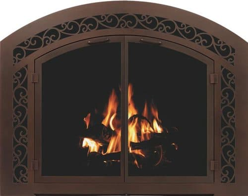 Sidelight With Stoll 1514 Design in Sidelight & Transom in Oil Rubbed Bronze