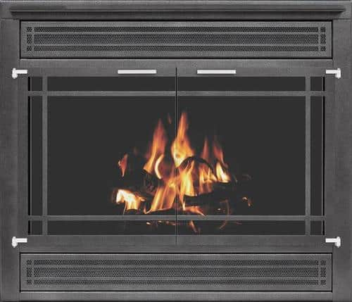 Zero Clearance Collection: Reface (Traditional) with Integrated Hood & Brushed Crome Hardware