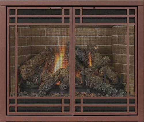 DV Reface Collection: (Essential Door) with 1523 Louvers shown in Rustic Vein