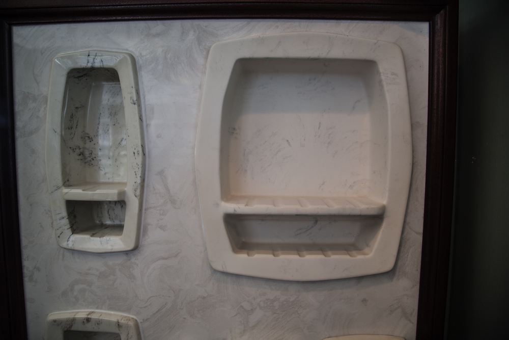 Recessed Soap & Shampoo Accessories