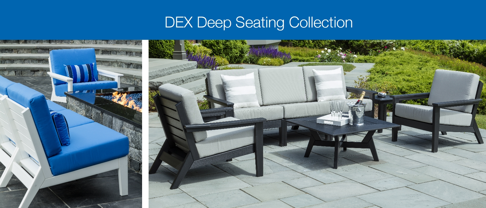 easide casual NEW 2017 dex deep seating collection