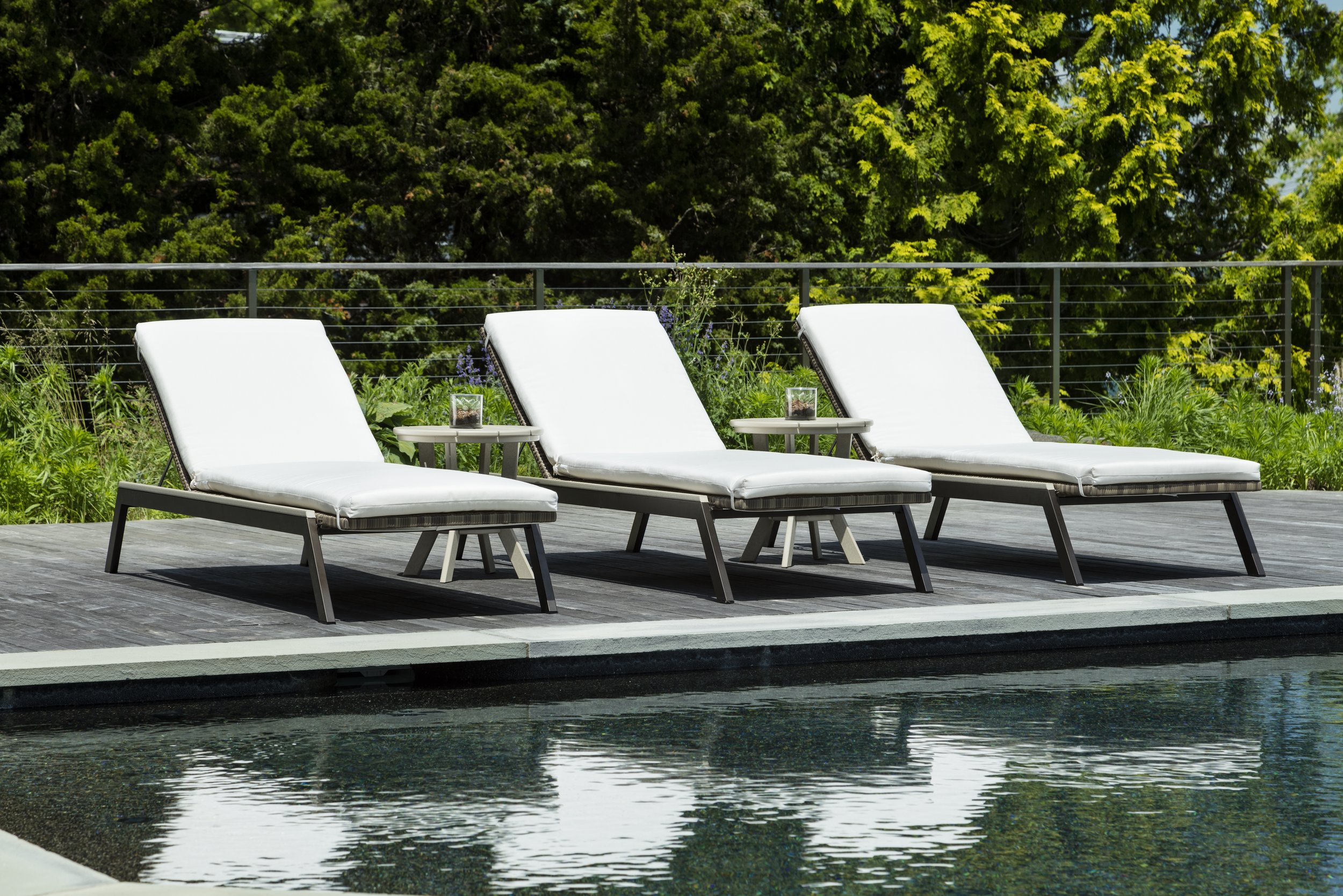 MAD Fusion Chaise Chairs - Poolside Chairs