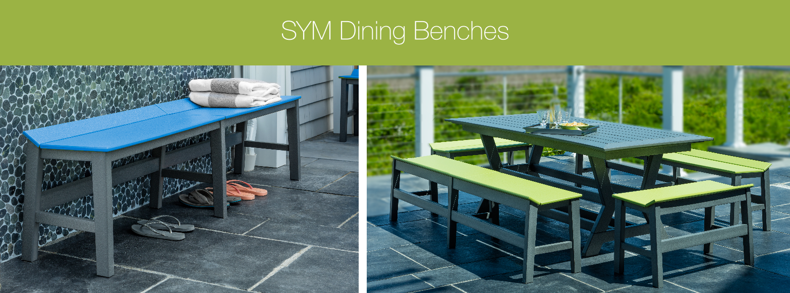 easide casual NEW 2017 SYM dining benches
