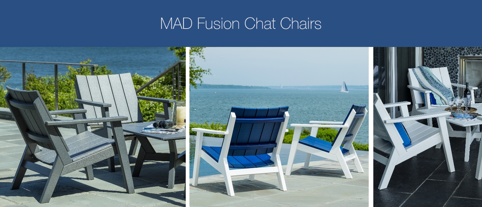 seaside casual NEW 2017 mad fusion chat chair collection