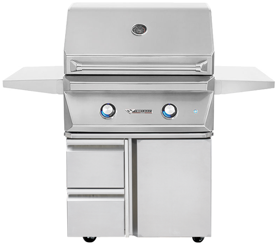 30'' Grill with Storage Drawers [TEGB30-B3]
