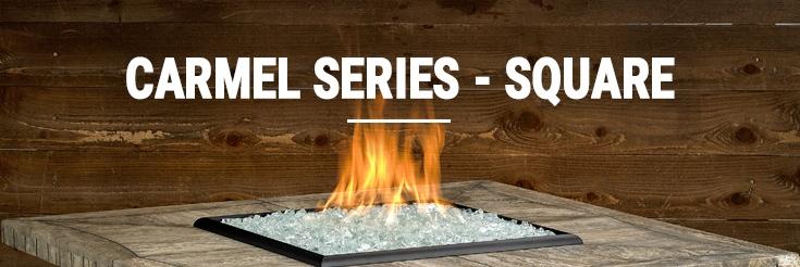 Carmel Series - Square Firepits