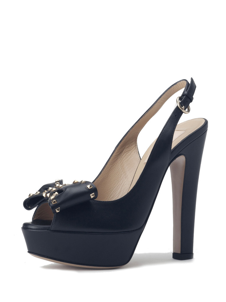 Valentino Rockstud Bow Pumps $225  - 1 Pair left!