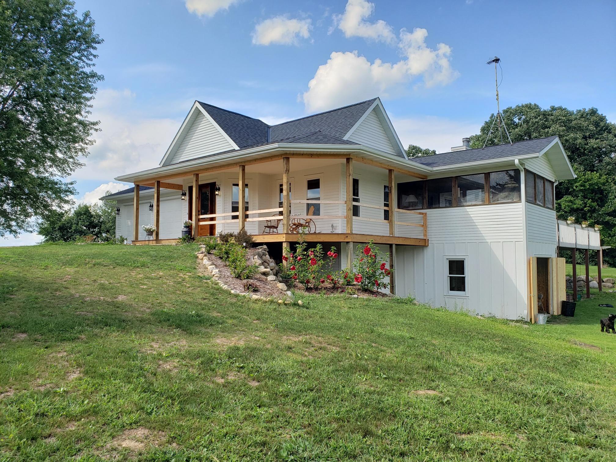 Rural Madison Exterior Remodel