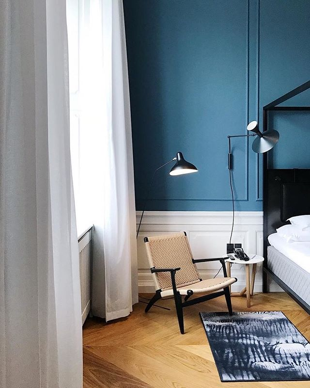 At the end of a long day traveling, wouldn't you want to take a rest here too? Welcome to Denmark, the first @nobishotelcopenhagen. #mapastay photo from colour master @nina_bruun