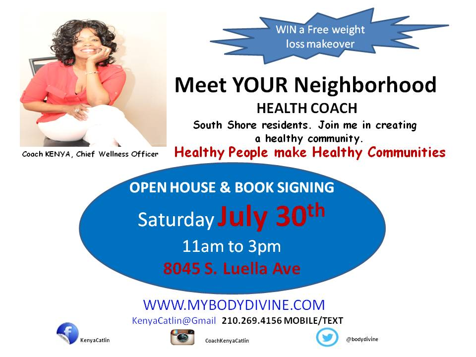 Book Signing Flyer