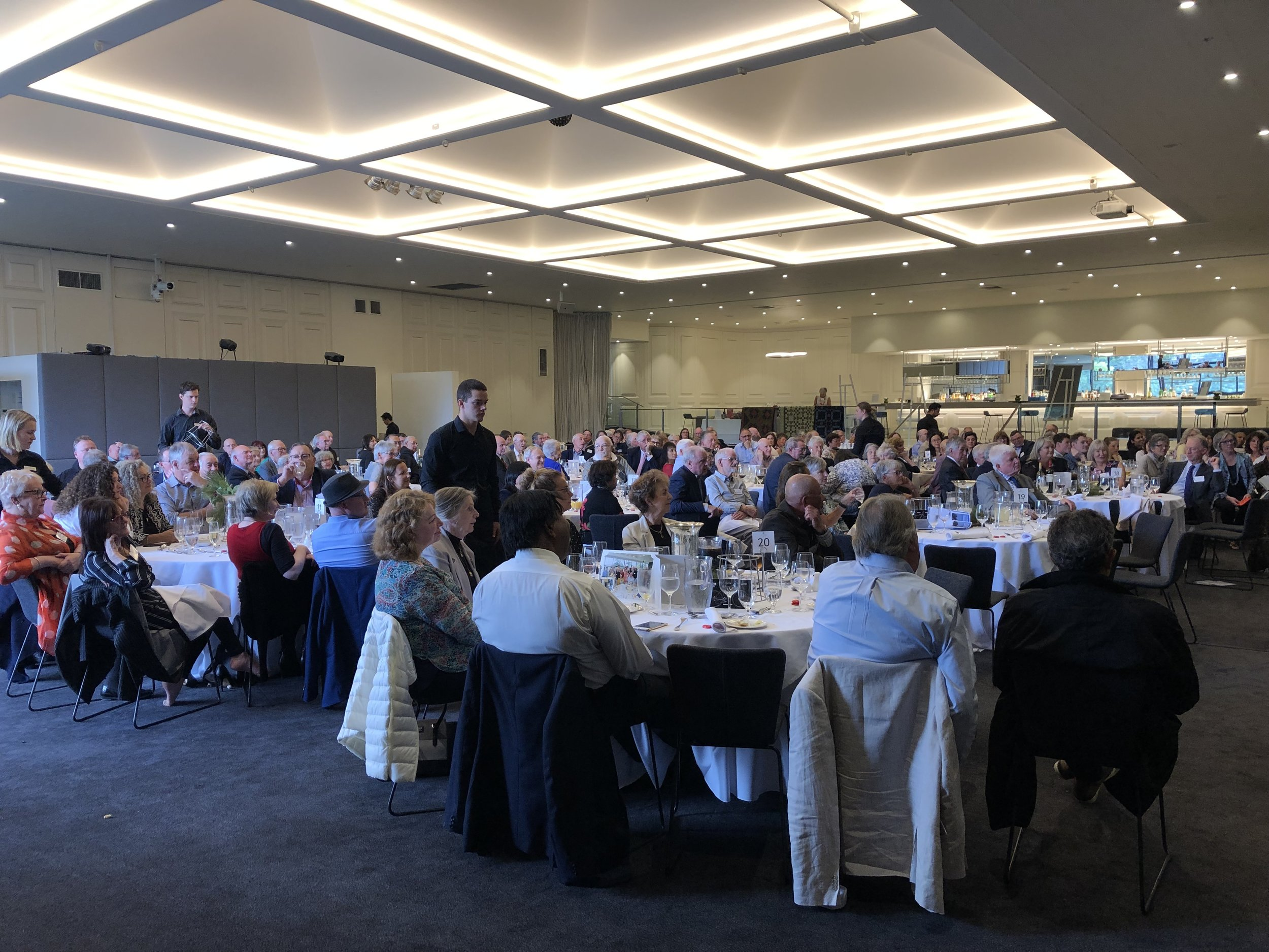 200 attended the lunch at Leonda