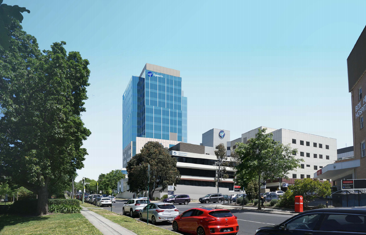 a 14-storey tower is about to go up