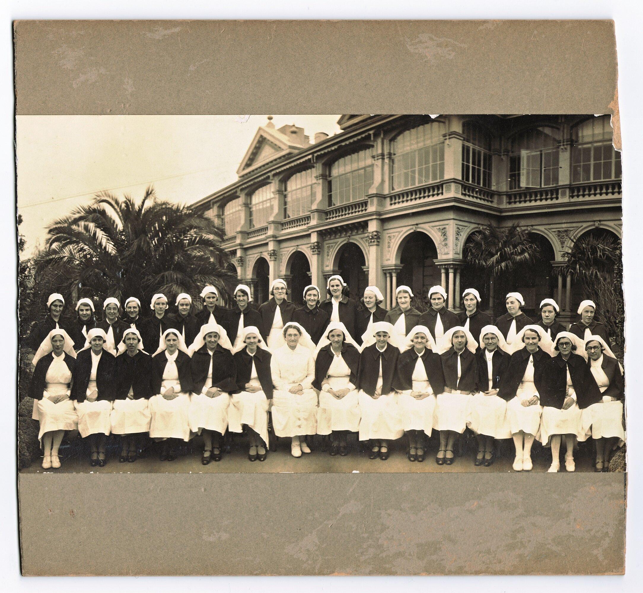 Nursing over 100 years