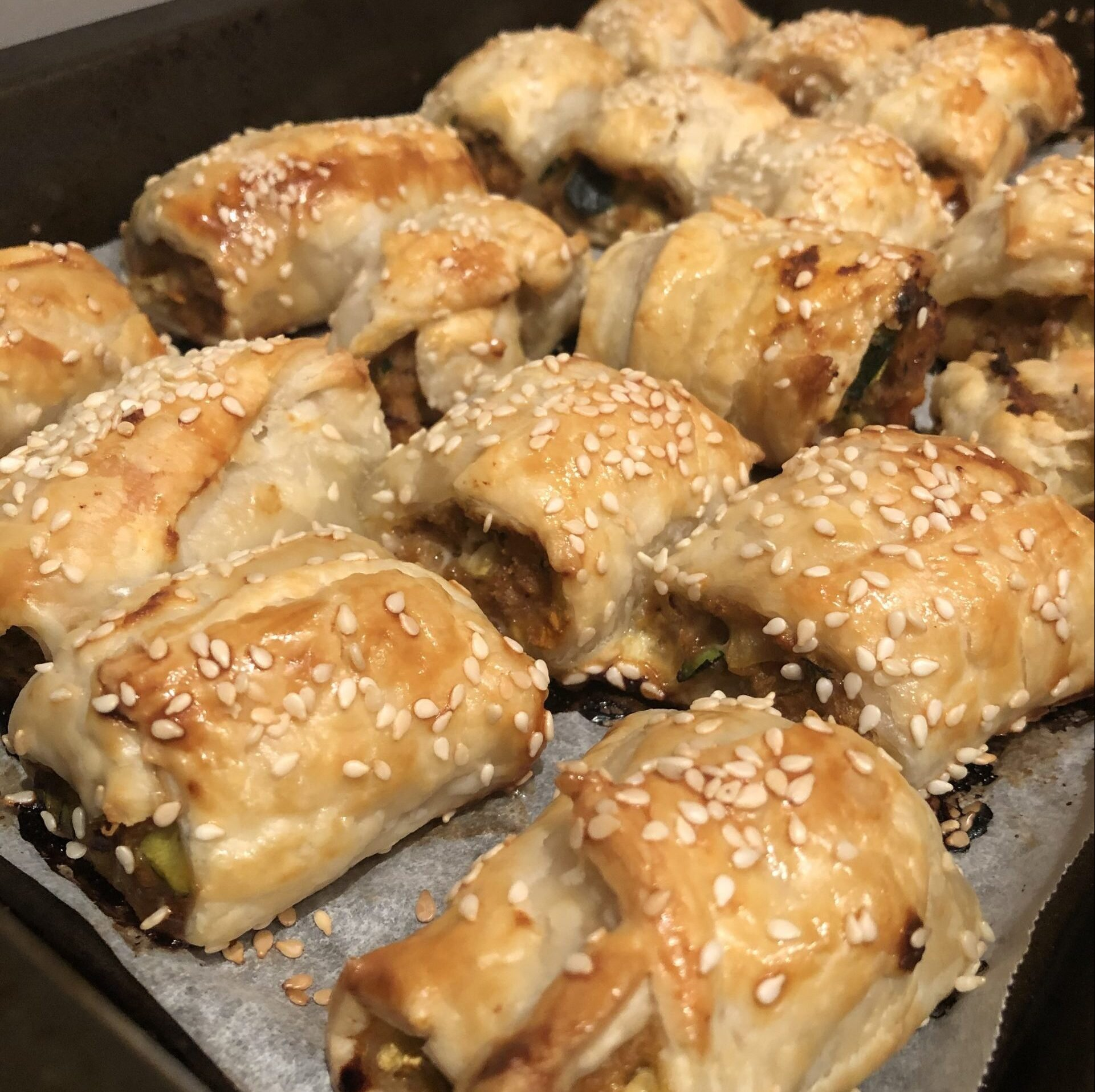 Turkey Sausage Rolls