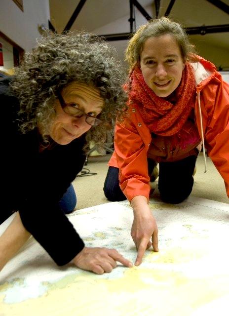 Ellen frankenstein (left) & Elise pepple (right)