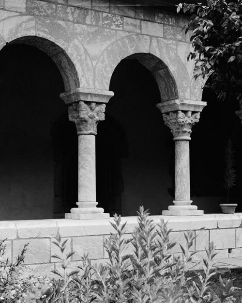 The Cloisters  , 2011.   Pigment print, 30 x 24 inches.