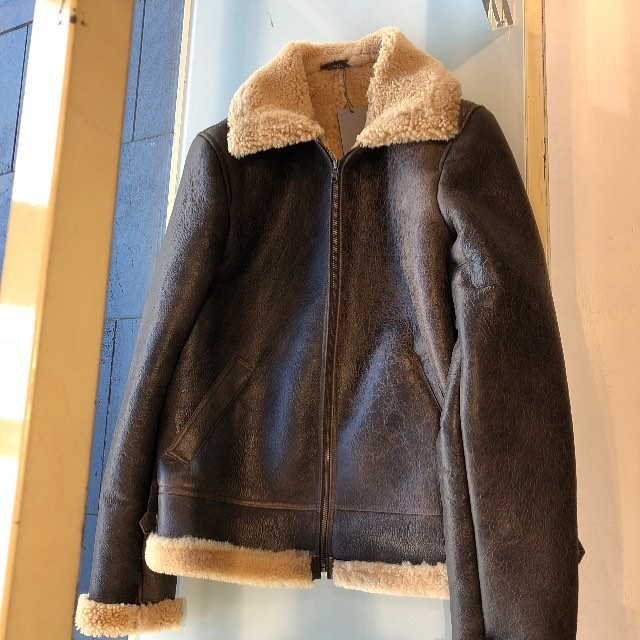 Getting ready for the big chill! #b3bomberjacket #shearlingbomber #handcrafted #madeinmelbourne
