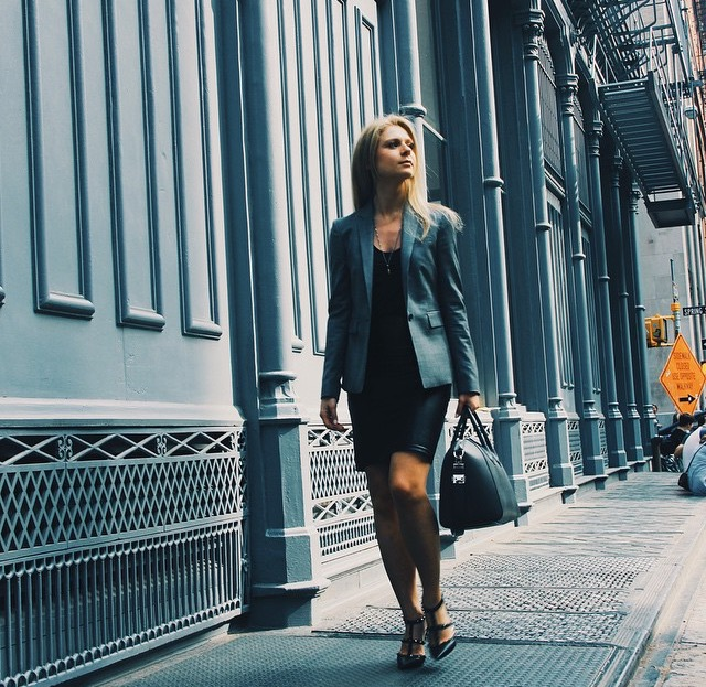 Eva in NYC, her base from which she explores the wonderful world of business travel!