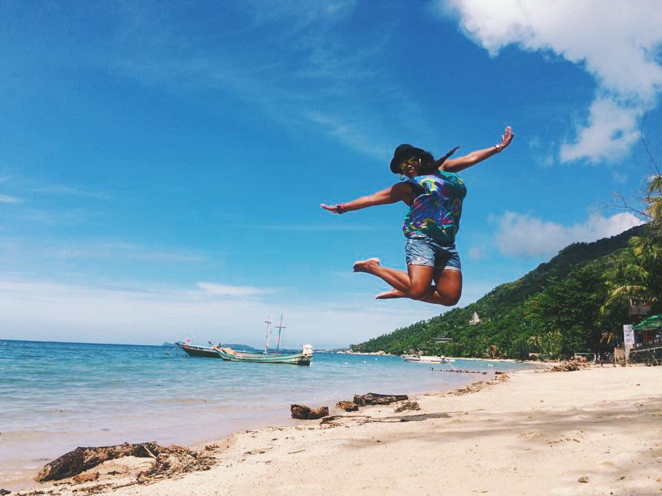 Glo beachside, in Koh Phangan, Thailand