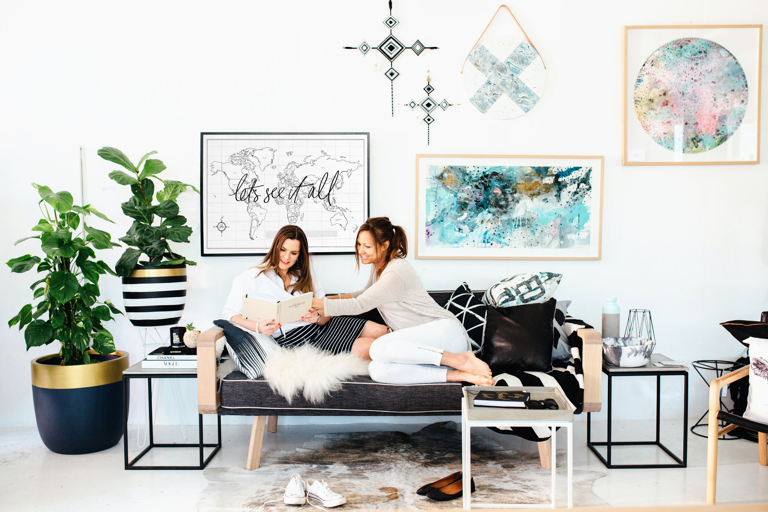 Axel & Ash showing us the meaning of interior goals