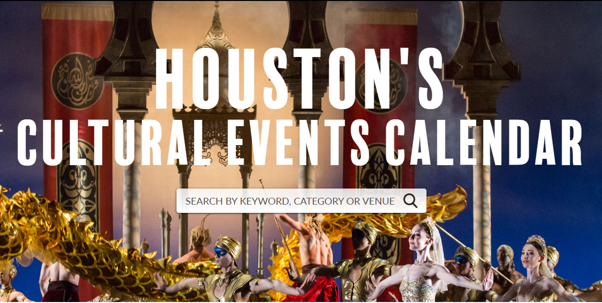 Houston Cultural Events Calendar.PNG