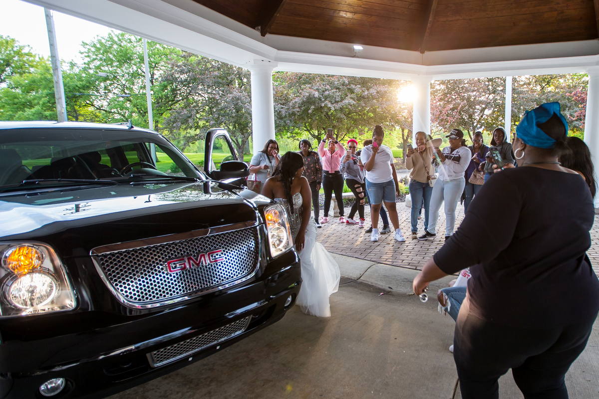 Ypsilanti Community High School attend their Great Gatsby themed prom at Washtenaw Golf Club on Saturday, May 20, 2017. Matt Weigand | The Ann Arbor News