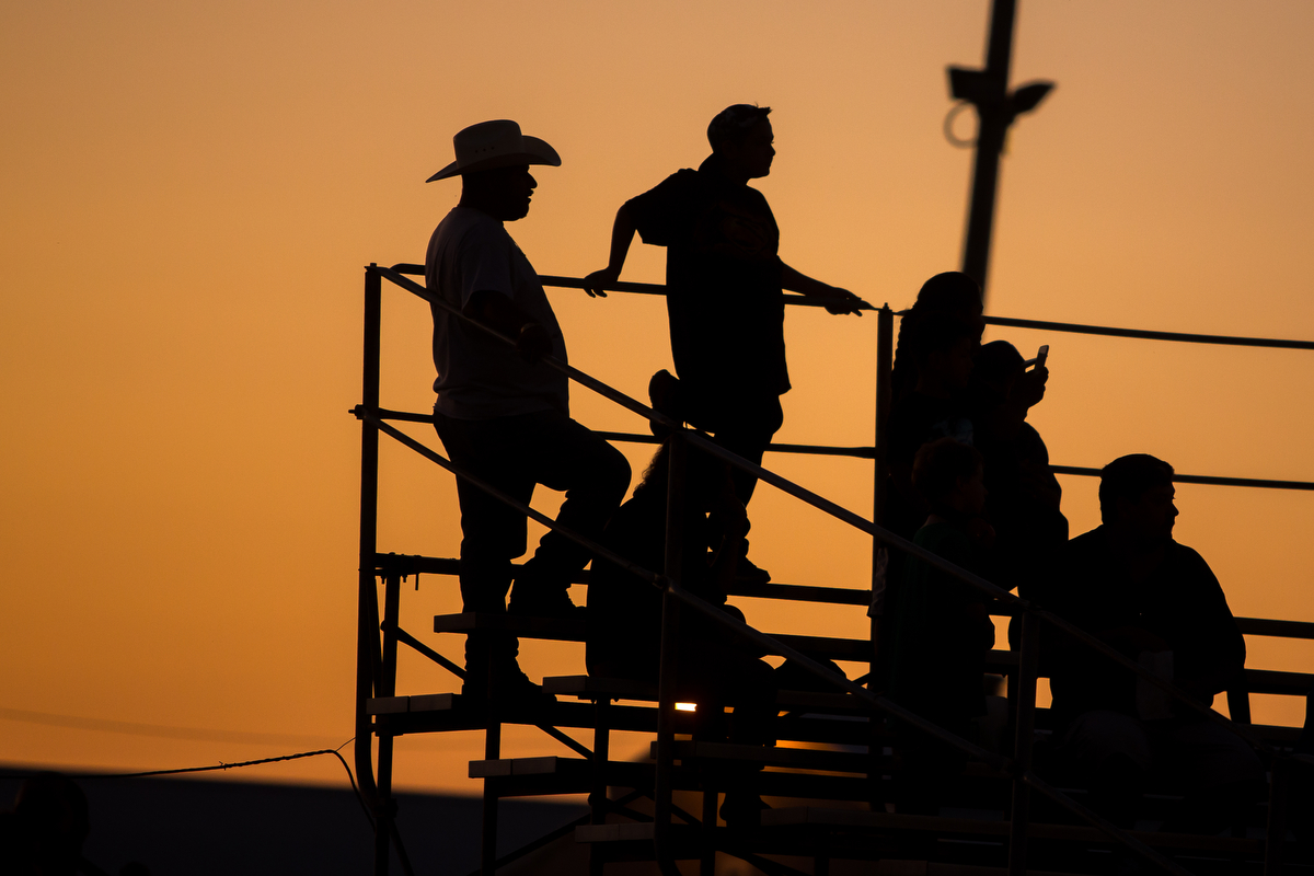 People watch during the USA AutoCross Enduro State Finals at the Washtenaw Farm Council Grounds on Saturday, September 23, 2017. The USA AutoCross Enduro State Finals featured six rounds of about 10 drivers and a $6,000 grand prize. Matt Weigand   The Ann Arbor News