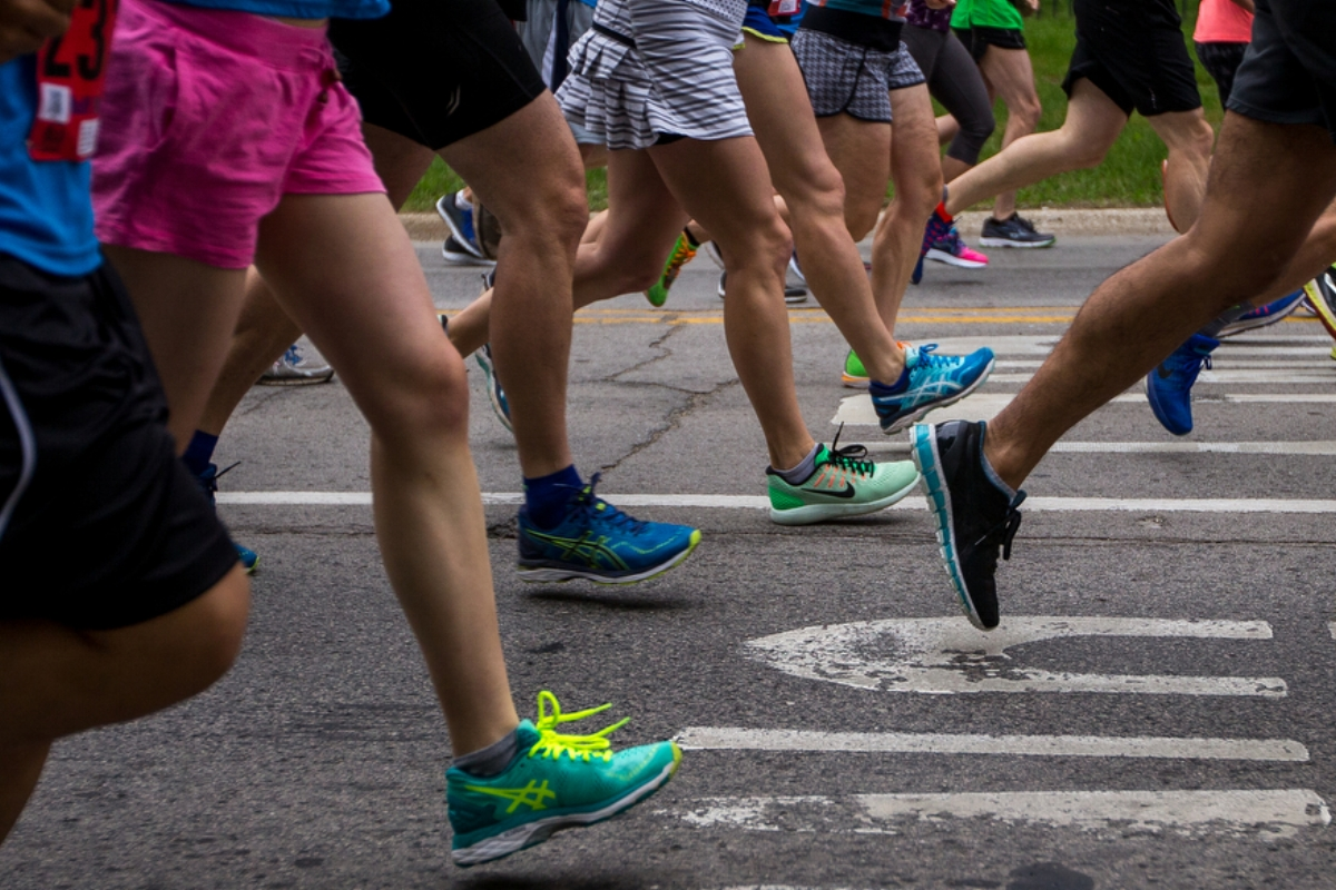 Racers take off during the Dexter to Ann Arbor half marathon on Sunday, June 4, 2017. Thousands turned out for the event, which is in its 44th year. Matt Weigand | The Ann Arbor News