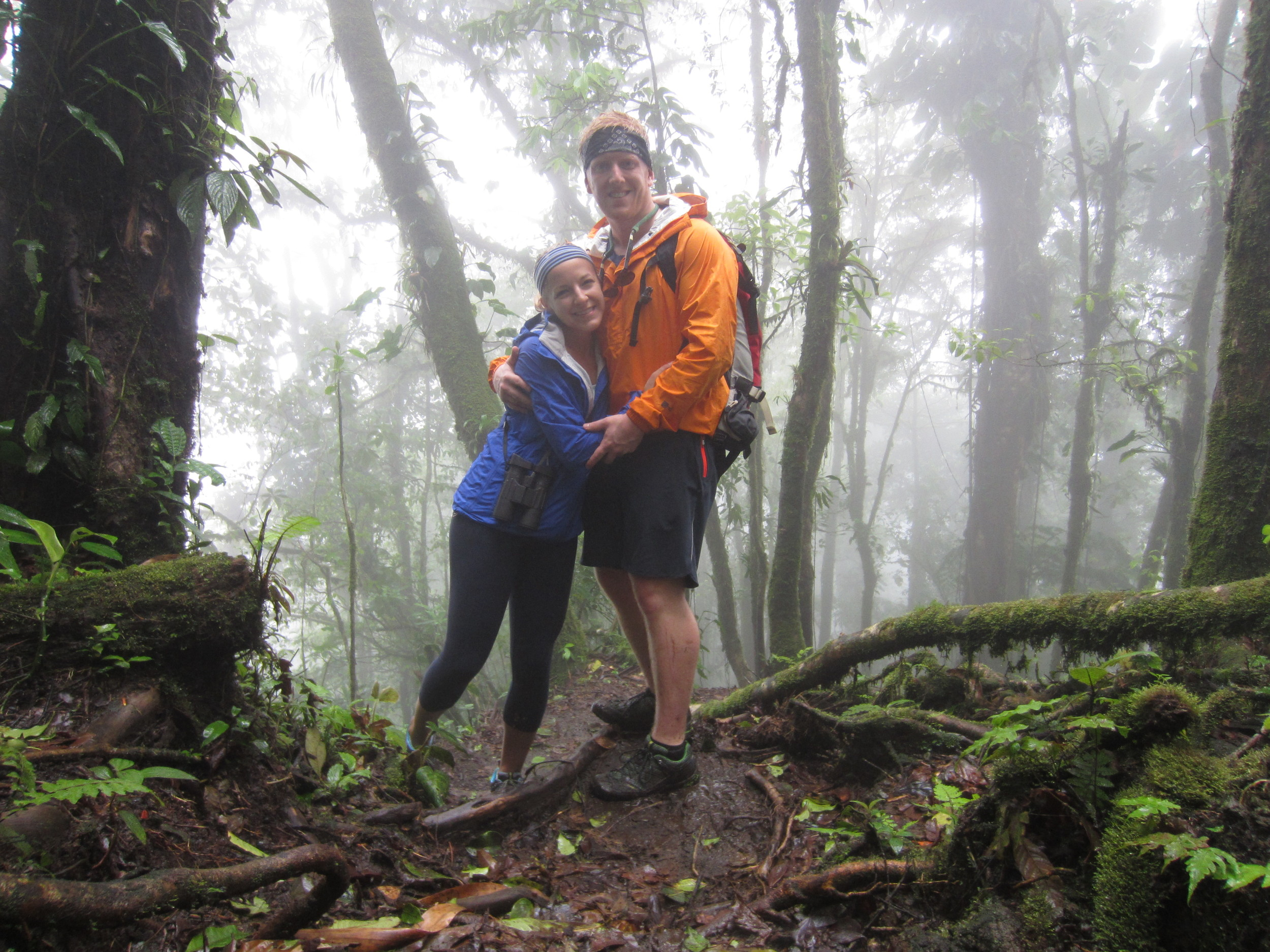 Hiking near the Arenal Volcano, Costa Rica