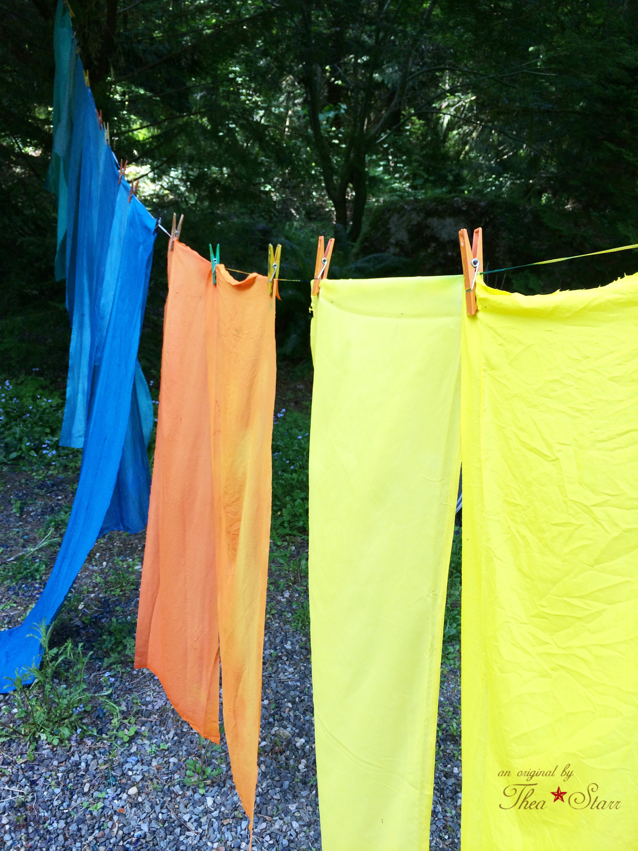 Thea Starr Hand Dyed Fabrics