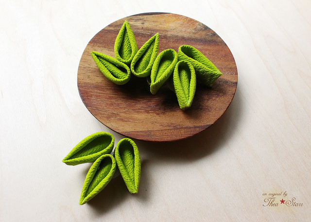 Small Bamboo Leaves Clips