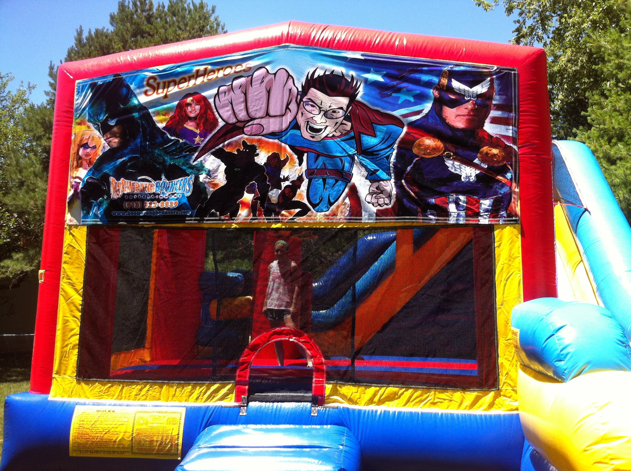 Heros 5-in-1 Combo Bouncer