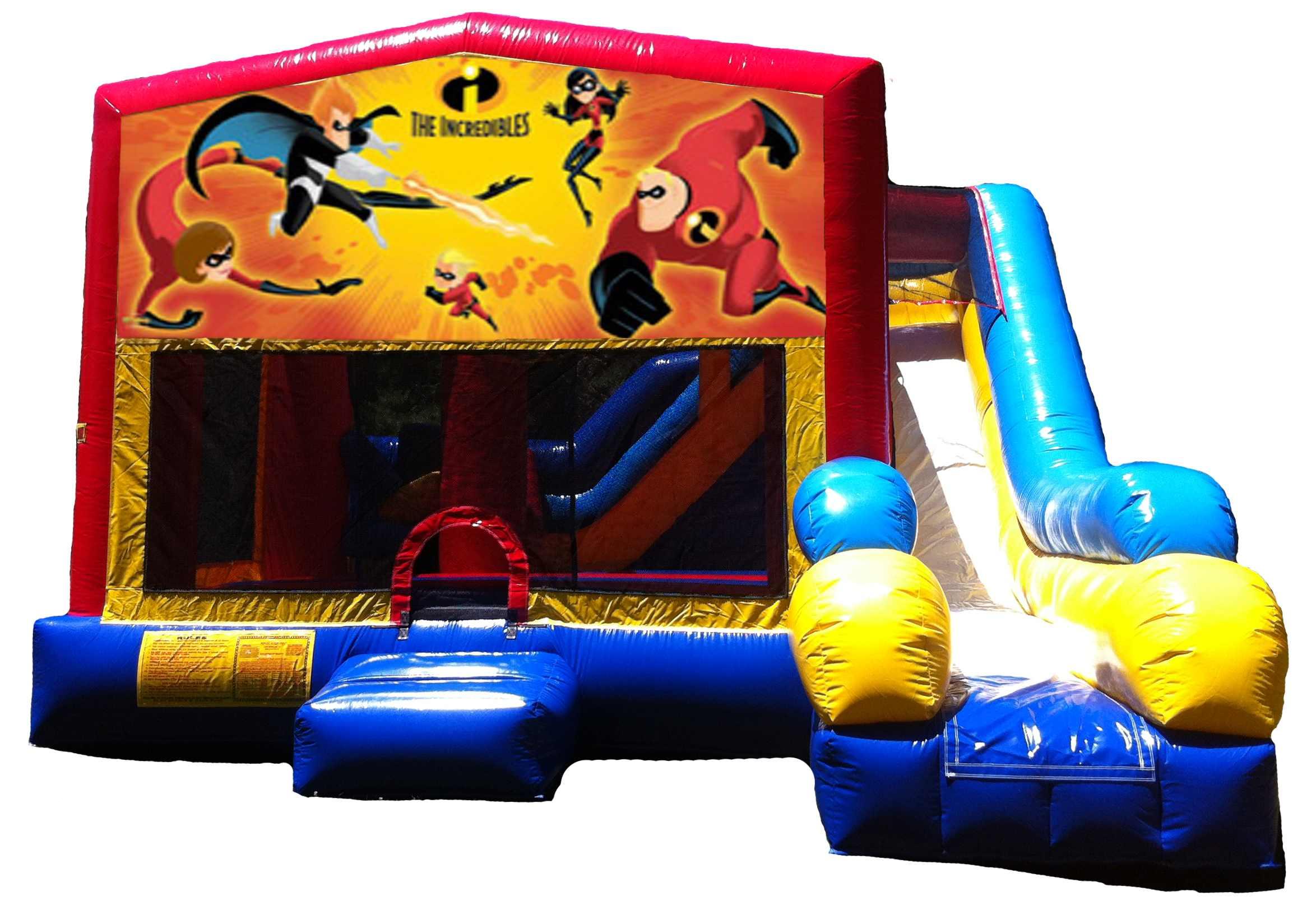 Incredibles 5-in 1 C7 Combo Bouncer
