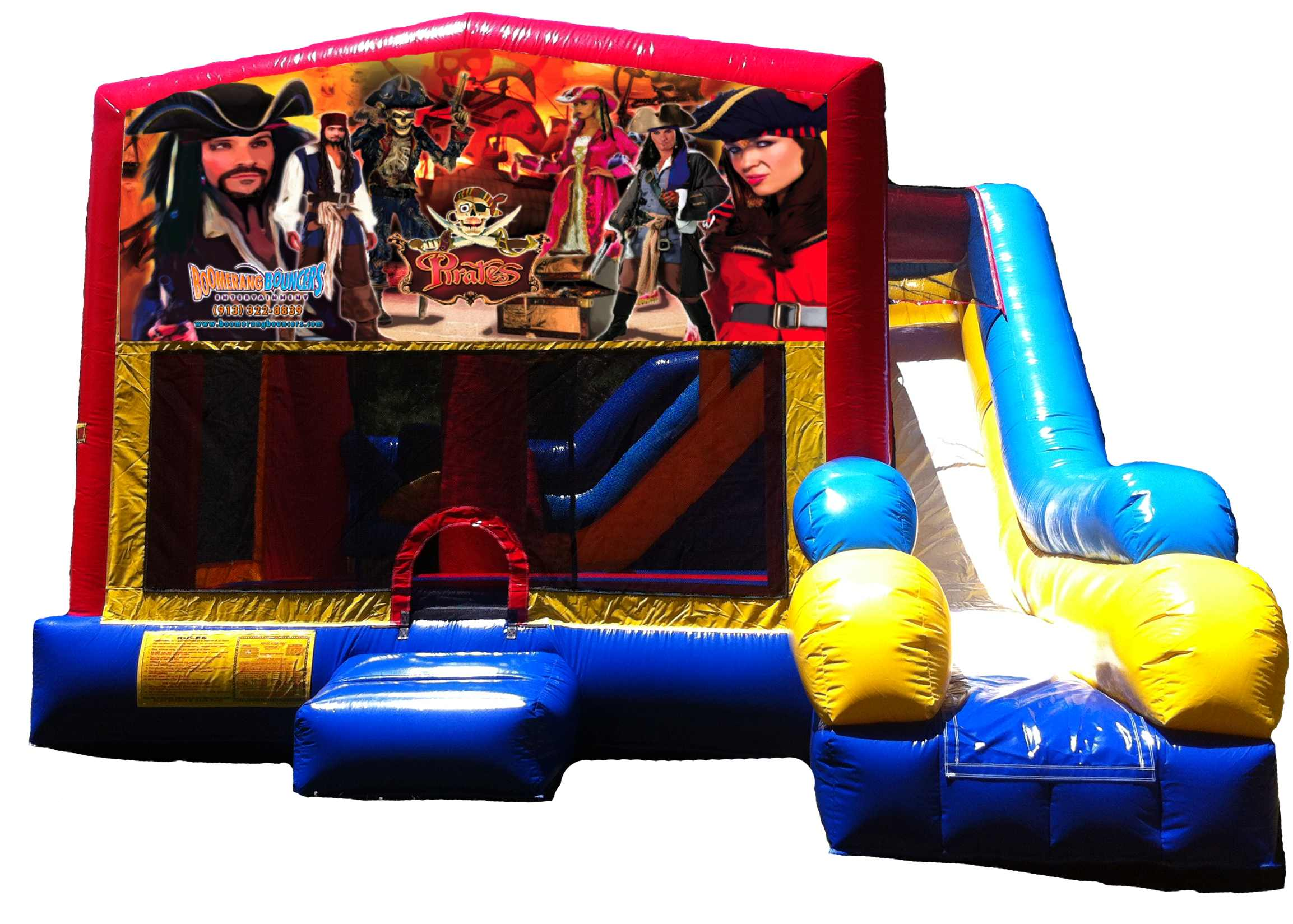 Pirates 5-in-1 C7 Combo Bouncer