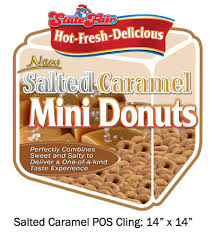 Salted Caramel Mini-Donuts