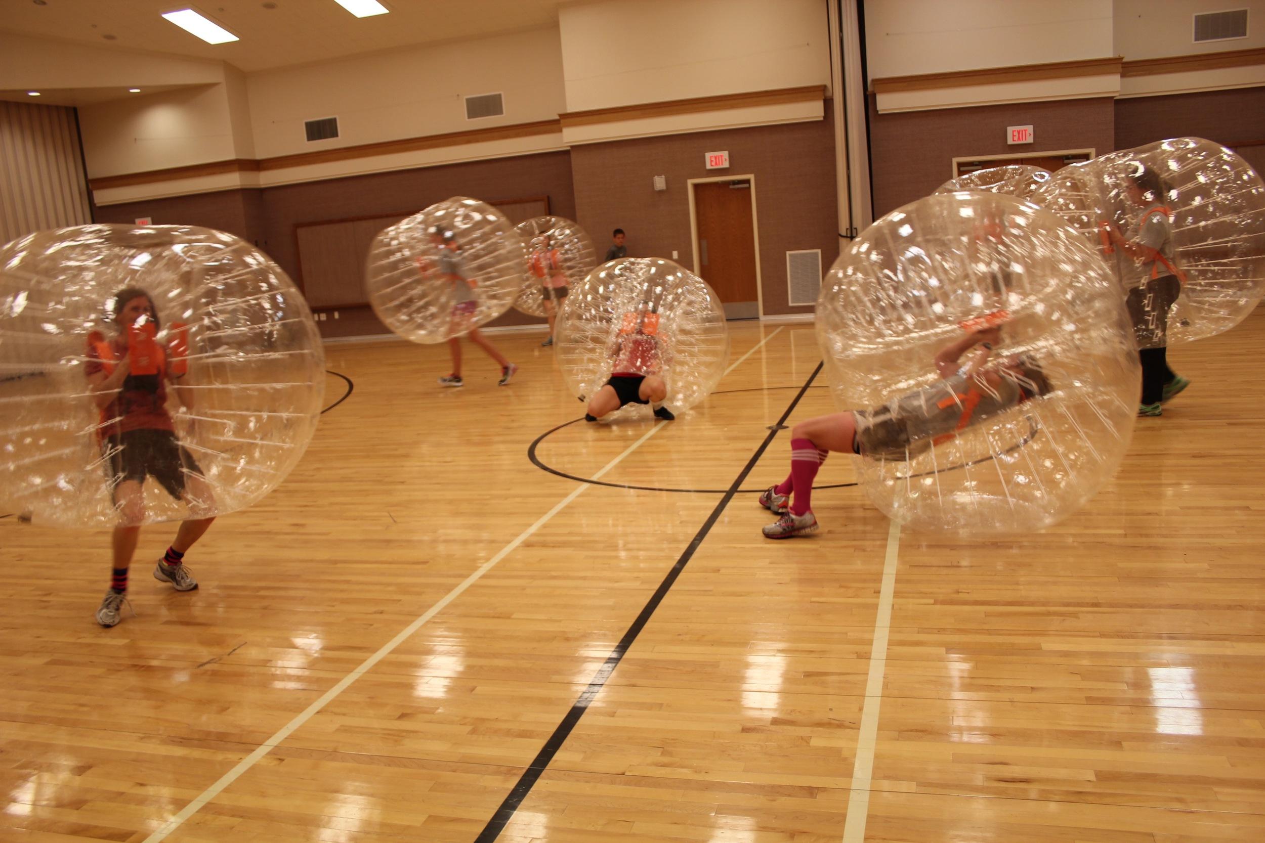 Boomerang Bubble Soccer