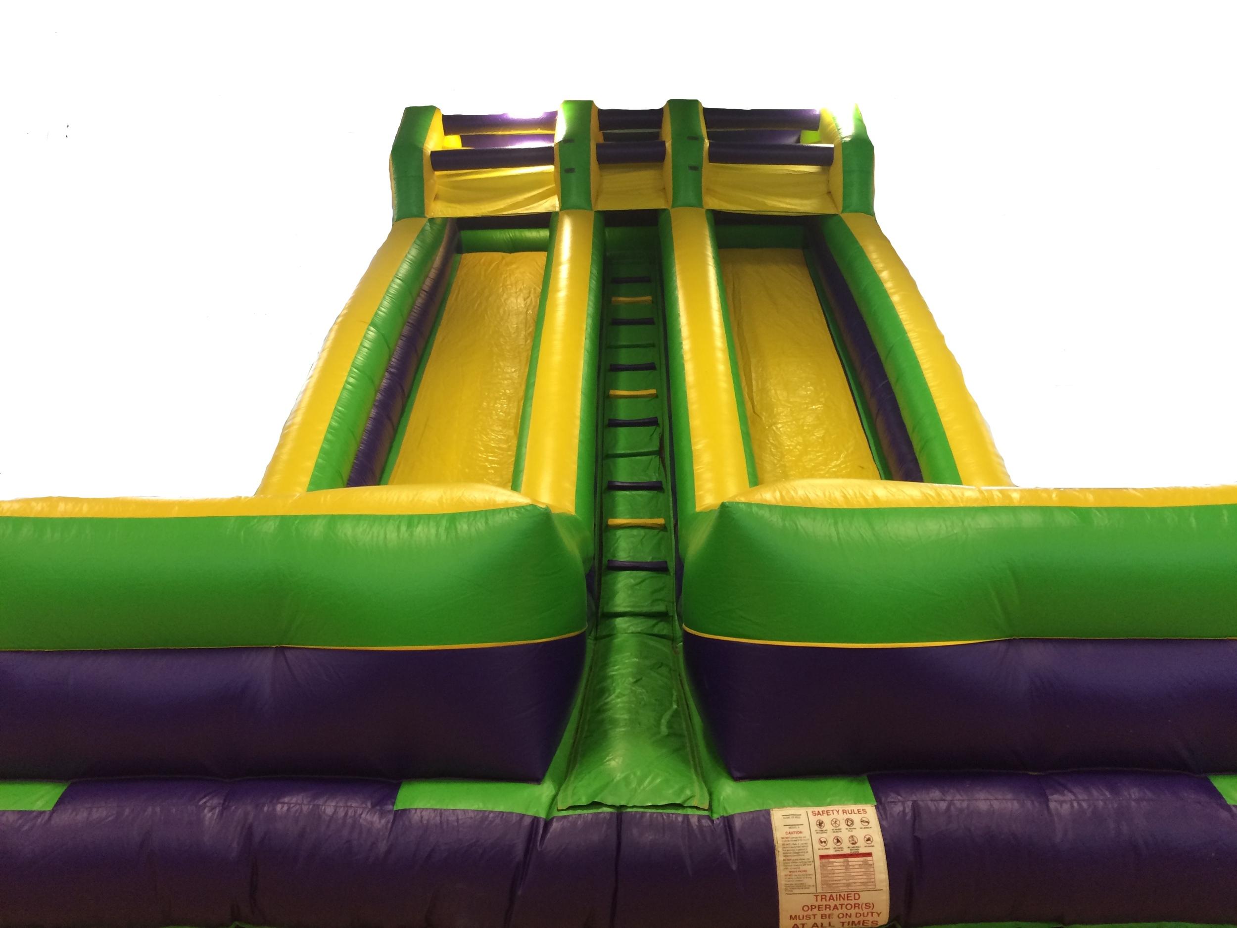 55 foot Dual Monster Slide