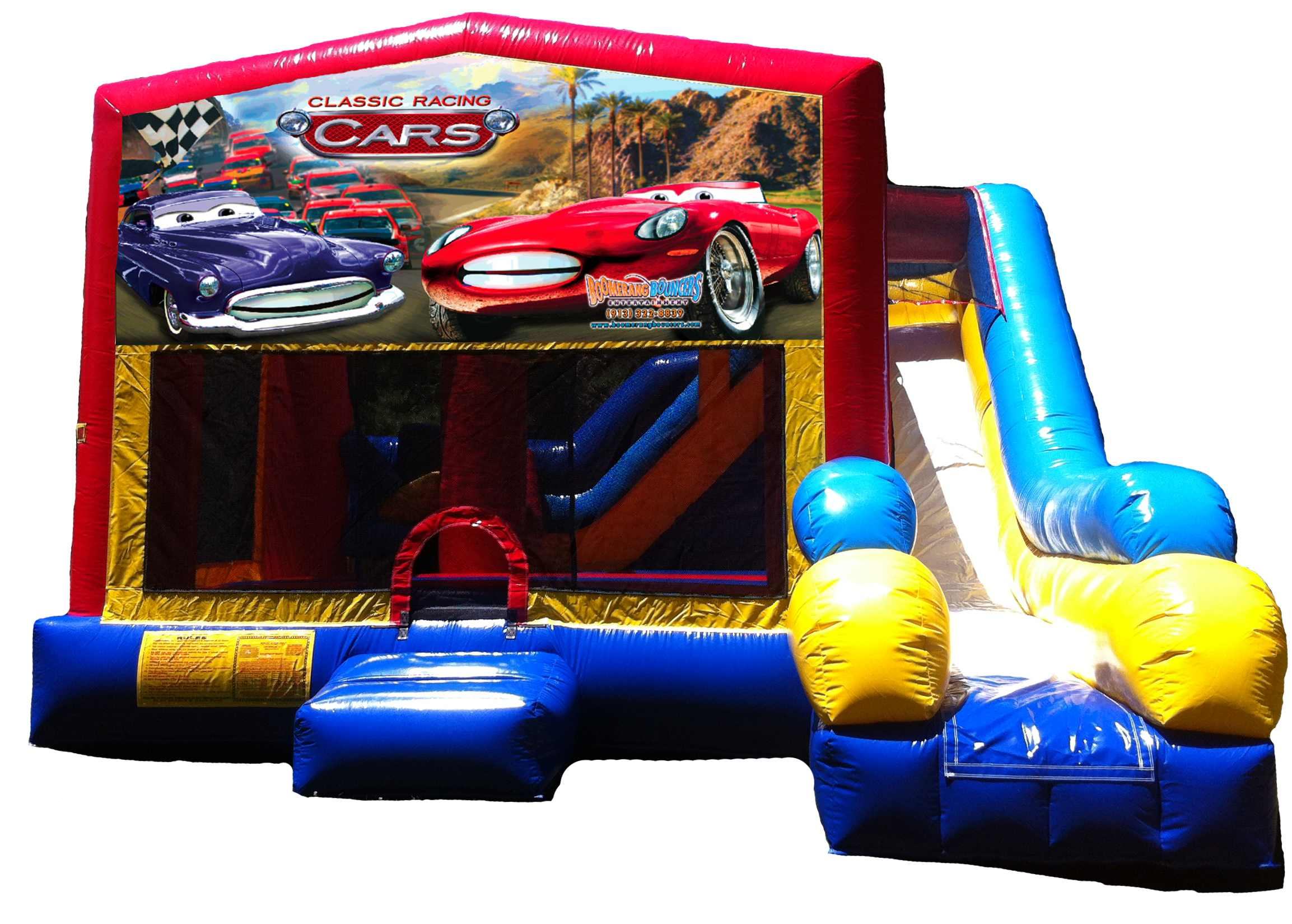 Cars 5-in-1 C7 Combo Bouncer