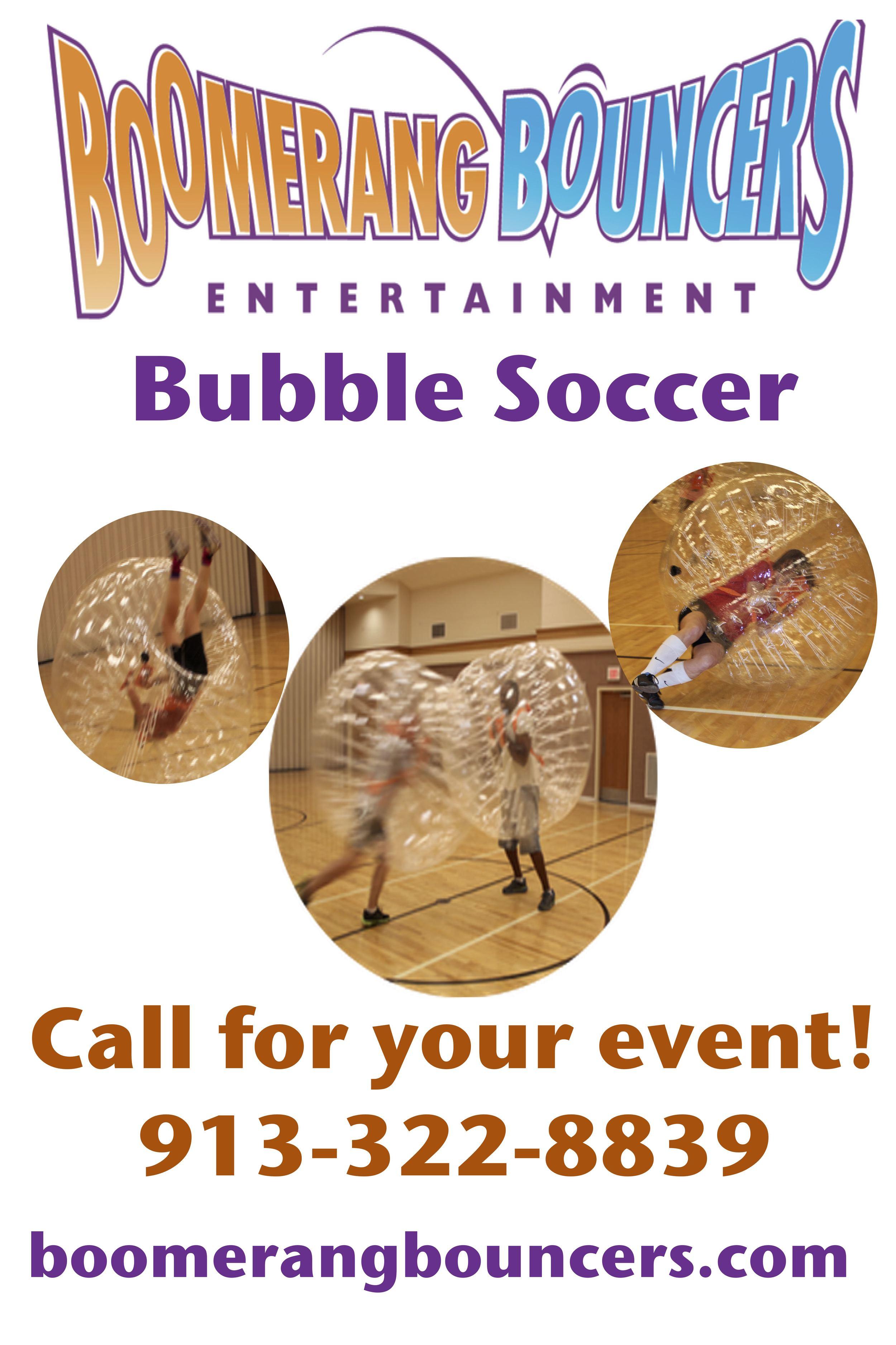 Boomerang Bubble Soccer Balls Banner