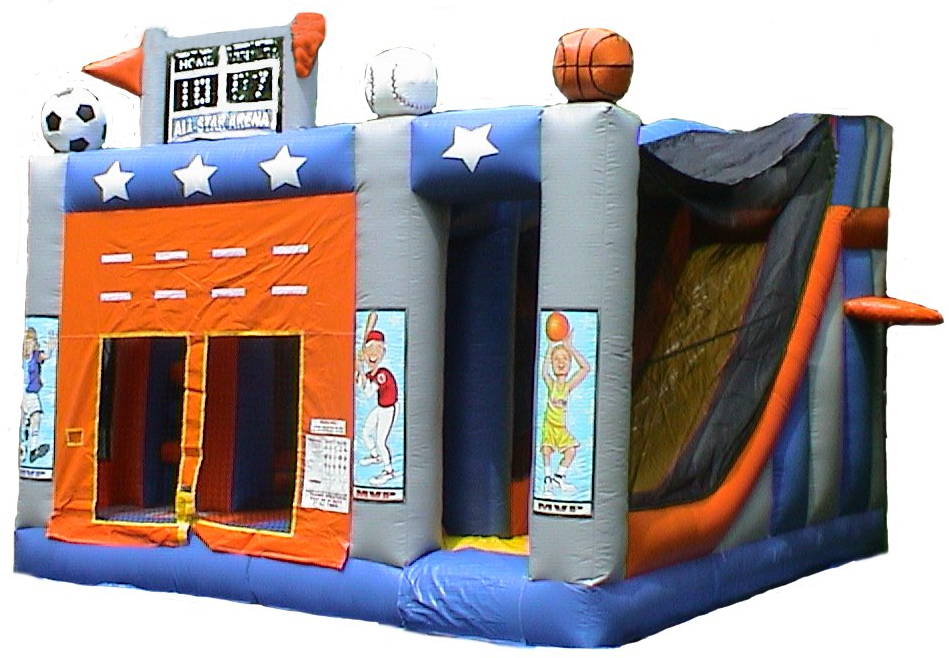 All-Star 5-in-1 Combo Bouncer