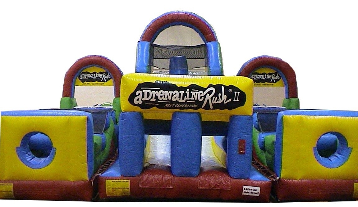 80 ft Adrenaline Rush II Obstacle Course
