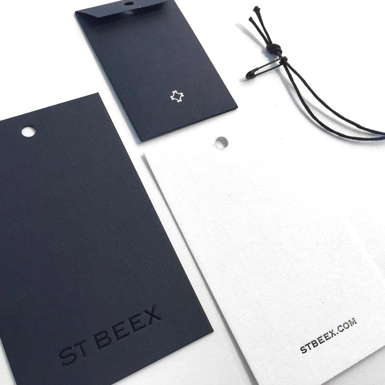 st.beex garment tags