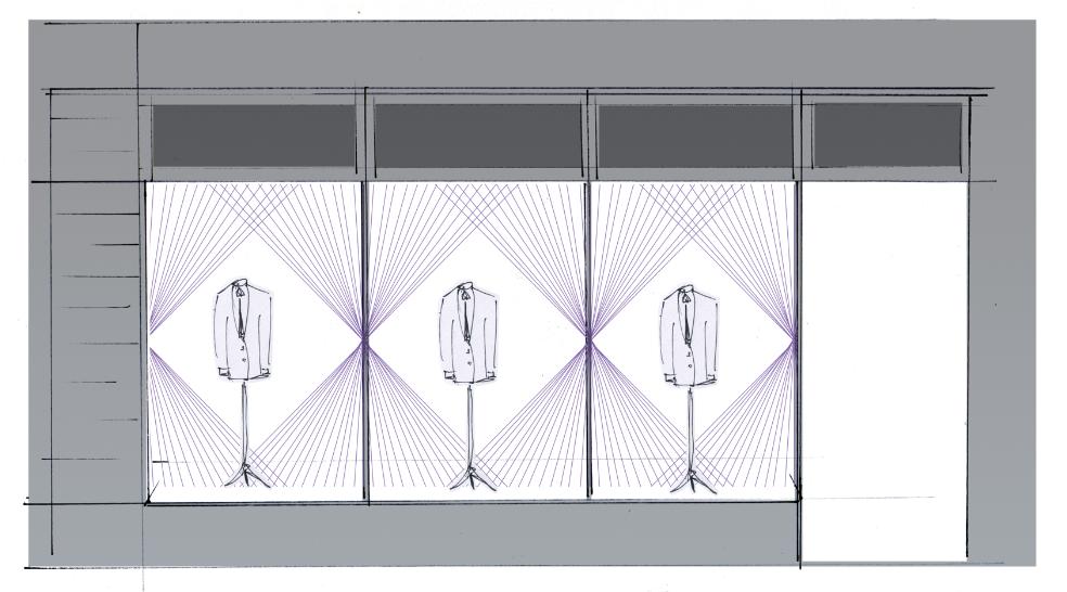ozwald boateng window display savile row sander gee sketch.png