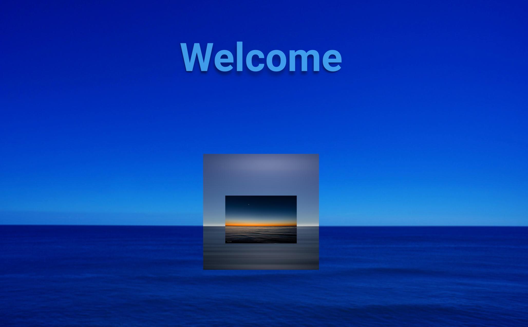 Blue Horizon  by  Adriana Echavarria ,  Radiant Sunset Horizon  by  Nick Chill