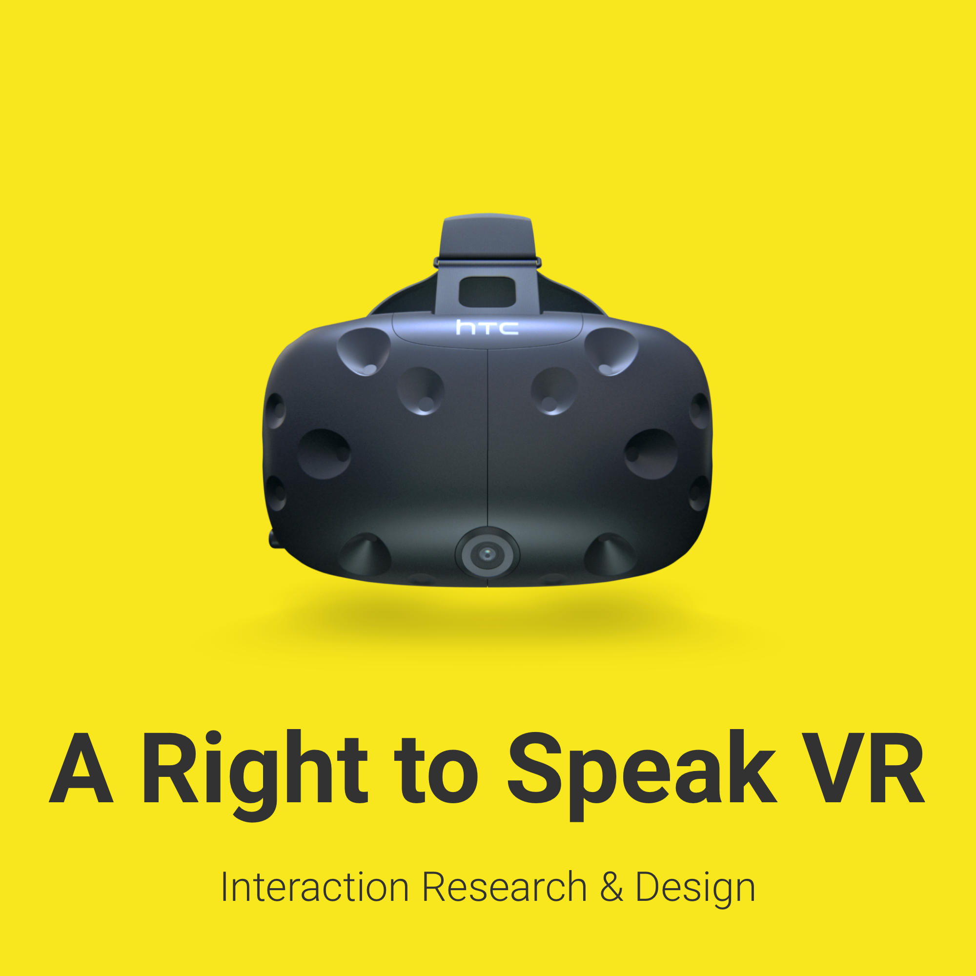 Right to speak VR interaction research and design .png