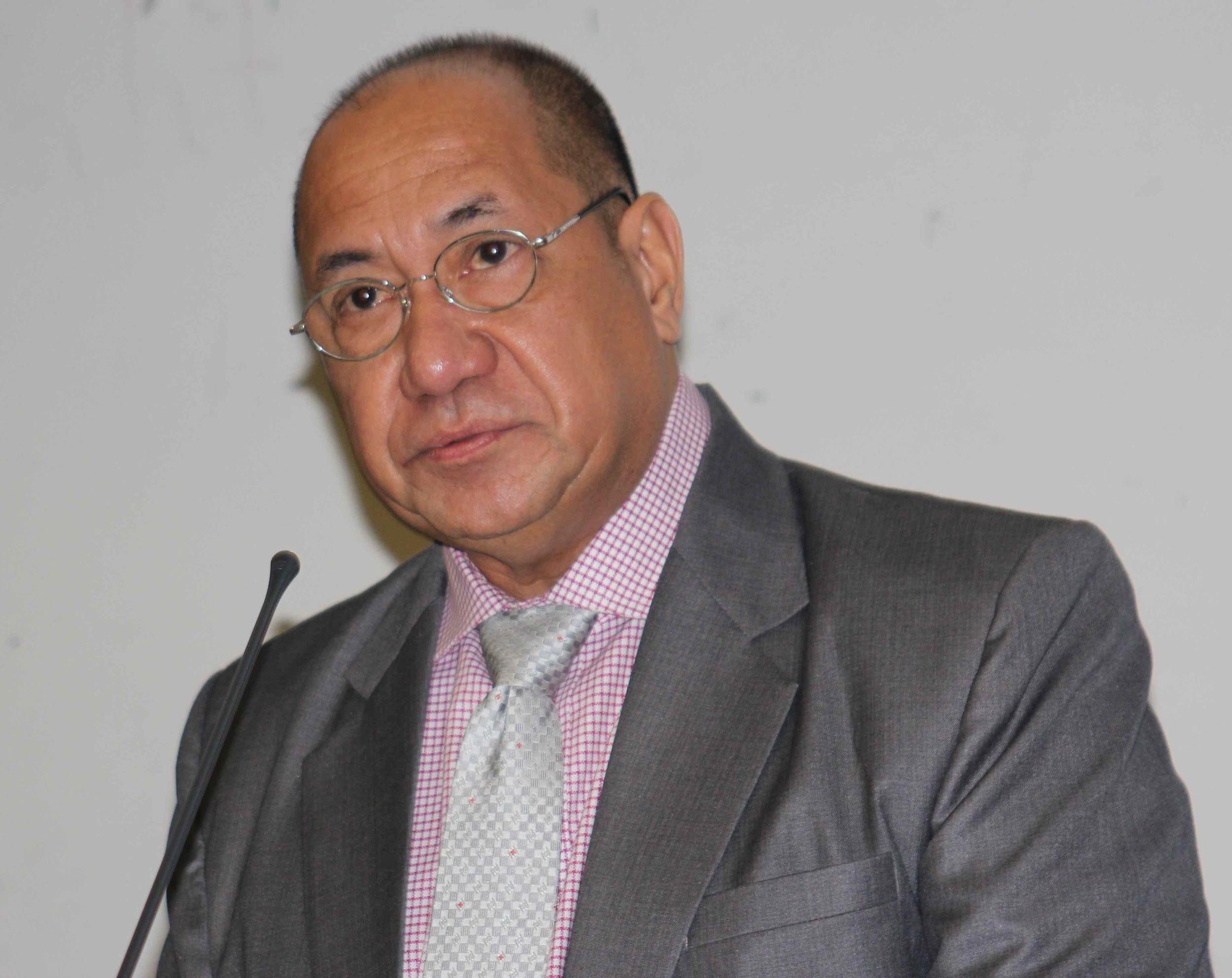 Minister of State H.E. Agio Pereira